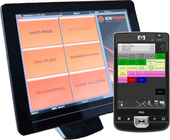 ICRTouch EPoS Software - TouchPoint & Pocket Touch
